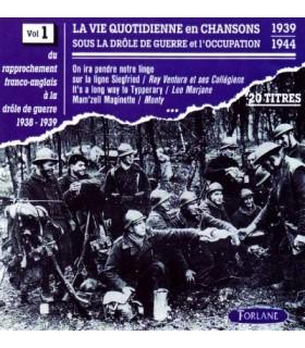 CHANSONS SOUS L'OCCUPATION Vol. 1