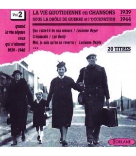 CHANSONS SOUS L'OCCUPATION Vol. 2