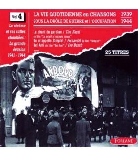 CHANSONS SOUS L'OCCUPATION Vol. 4
