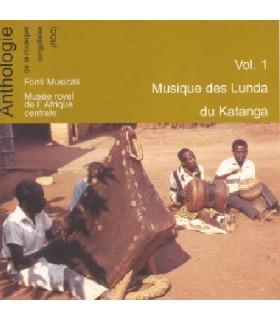 Vol.1 Musique des LUNDA du KATANGA