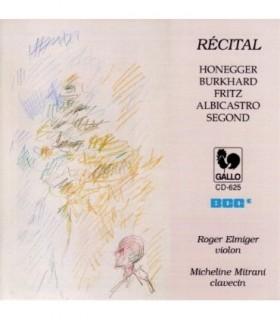 RECITAL-Oeuvres de compositeurs Suisses