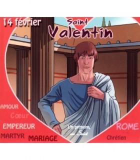 Collection Un Prenom Un Saint, VALENTIN