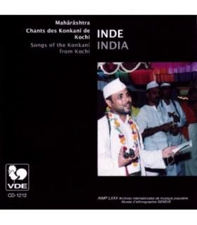 MAHARASHTRA-Chants des Konkani de Kochi
