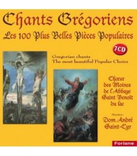 GREGORIEN-Les 100 plus belles pieces Populaire