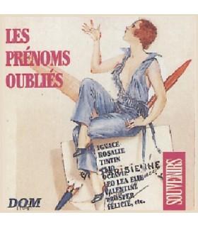 Les PRENOMS OUBLIES