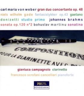 Weber-Gade-Brahms-Martinu