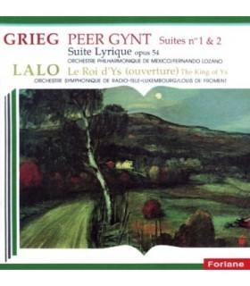 Peer Gynt Suites Nº1 et 2 LALO Le Roi d'Ys