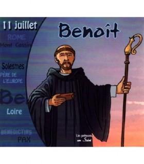Collection Un Prenom Un Saint, BENOIT