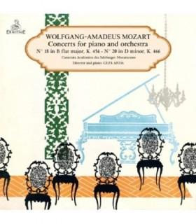 MOZART, Concerto No18 K456, No20 K466.