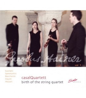 Birth of the String Quartet, Vol.1