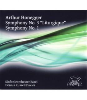 "Symphony No 3 ""Liturgique"" et No 1"