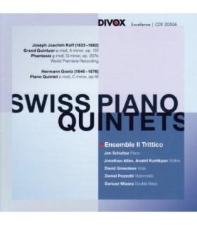 Swiss Piano Quintets - Raff - Goetz