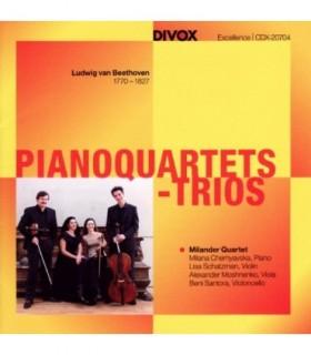 Pianoquartets - Trios - Beethoven