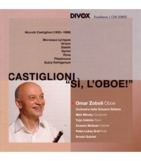 Castiglioni - Complete Works for Oboe