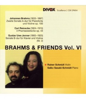 Brahms and His Friends, Vol. 4
