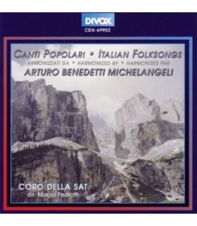 MICHELANGELI, Canti Popolari - Italian Folksongs