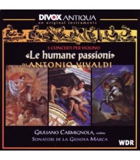 Le Humane Passioni, 5 concerti per violono