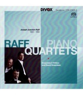 J.J. RAFF - Piano Quartets
