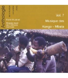 Vol.7 Musique des KONGO-MBATA