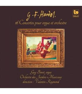 Integrale des 16 Concertos pour Orgue