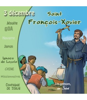 Collection Un Prenom Un Saint, Francois-Xavier