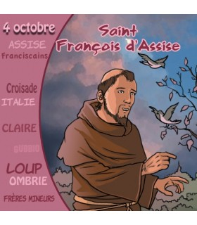 Collection Un Prenom Un Saint, Francois d'Assise