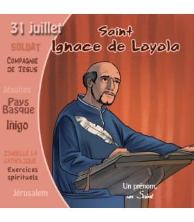 Collection Un Prenom Un Saint, Ignace de Loyola