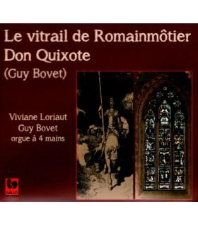 Le Vitrail de Romainmotier - Don Quixote
