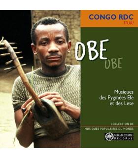 Obe - Musiques des Pygmées Efe et des Lese
