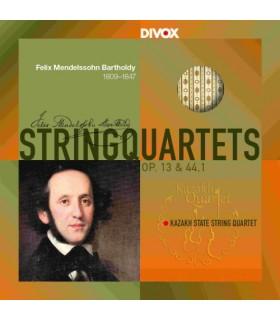String Quartets op. 13 et 44.1