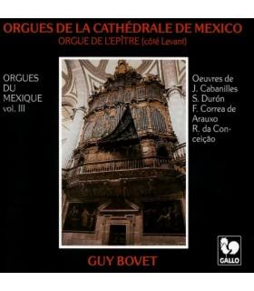 Guy Bovet aux Orgues du Mexique, Vol. 3
