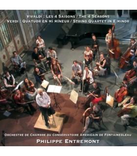 Vivaldi Les 4 saisons - Verdi Quatuor à cordes en mi mineur