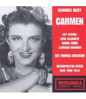 CARMEN - Sir T. Beecham, 1943