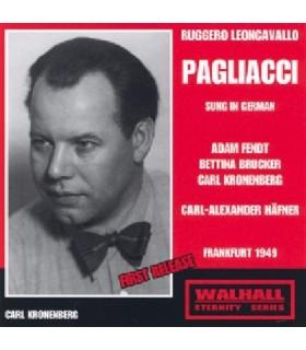 I PAGLIACCI (Chanté en allemand) - Hafner, 1949