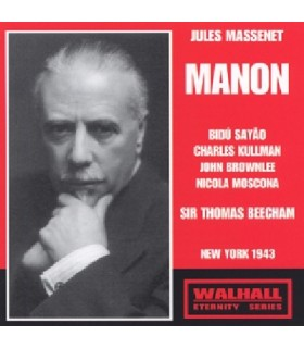 MANON - Sir  T.Beecham, 1943