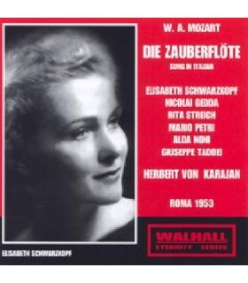 LA FLÛTE ENCHANTÉE Chanté en italien - Karajan, 1953