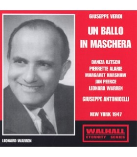 UN BALLO IN MASCHERA - G. Antonicelli, 1947