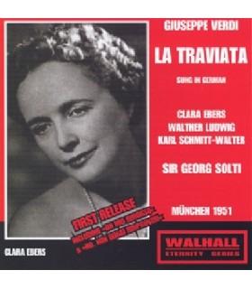 LA TRAVIATA - Chanté en allemand - Solti, 1951
