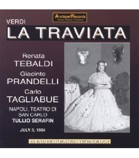 LA TRAVIATA, T. Serafin, 1954