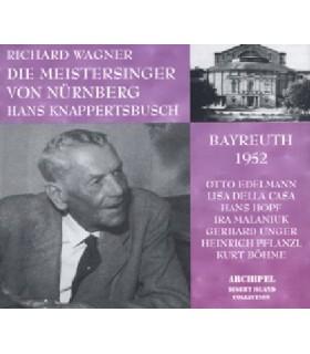LES MAÎTRES CHANTEURS DE NUREMBERG, H. Knapperbusch, 1952