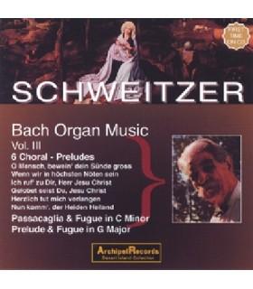 Musique pour Orgue - Vol.3 (Albert SCHWEITZER)