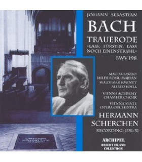 Trauerode BWV 198