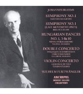 Symphonie N°1, Danses Hongroises, Concerto pour violon ...
