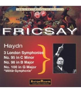 Symphonies N°95, 98 & 100