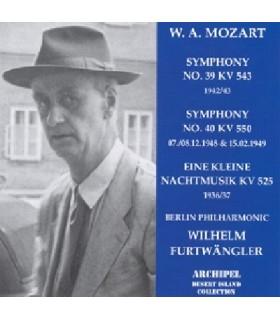 Symphonies N°39 & 40
