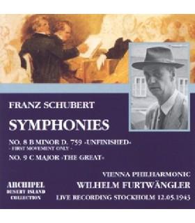 Symphonies N°8 & 9W. FURTWÄNGLER, 1943