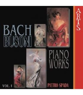Transcriptions pour piano d'oeuvres de BACH - Vol.1