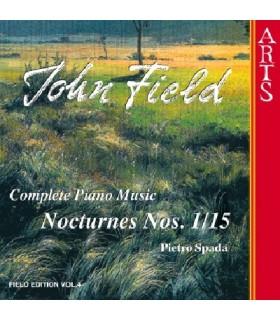 """Musique pour piano - Vol.4 """"Nocturnes N°1 à 15"""""""