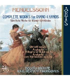 Œuvres Complètes pour piano à 4 mains