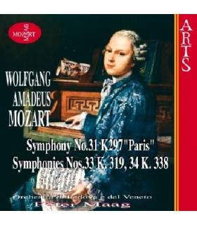 Symphonies N°31, 33 & 34